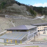 長野原第一小学校全景