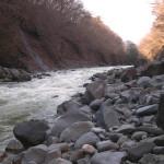 ダムサイト付近