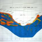 ダムサイト基礎地盤のルジオンマップ(ルジオン値:透水性の指標)