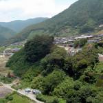 五木村の川辺川ダム水没予定地と頭地代替地
