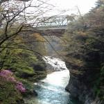 名勝・吾妻渓谷(水没予定地)