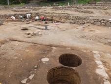 西宮遺跡の発掘調査(川原畑地区)