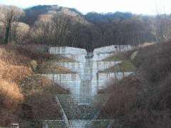砂防ダム(上湯原地区)
