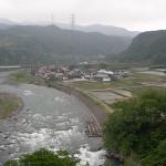 利根川上流部(群馬県渋川市)