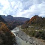 八ッ場ダム予定地(2001年11月15日)