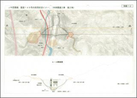 JR吾妻線、国道145号の供用状況イメージ図(本体関連工事施工時)