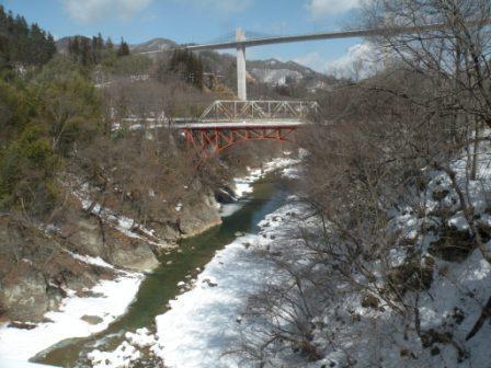雪の千歳橋(縮小)