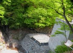 枯れた栃洞の滝 (2)shuku
