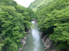 滝見橋上流shukku