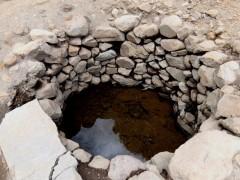 村人が共同で使っていた大井戸