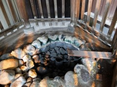 温泉卵を作った場所shuku