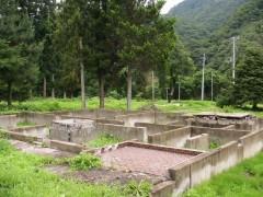 川原湯温泉街の上流に位置する上湯原地区は農村で、30世帯以上の人々がつい最近まで生活を営んでおられた。
