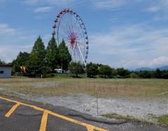 観覧車と問題の駐車場shuku