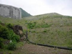 2012年6月 上湯原代替地を下からshuku