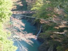 橋げたを外された滝見橋 (2)shuku