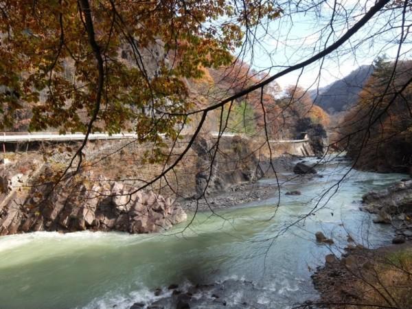 岩脈と吾妻川 (2)shuku