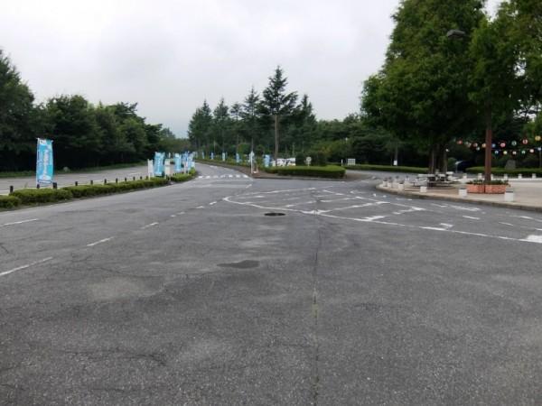 渋川スカイランドパークの市道shuku
