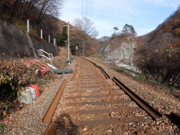 線路と小蓬莱shuku