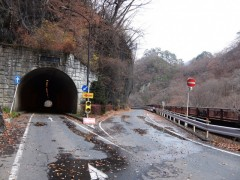 トンネルと国道shuku