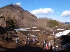 石川原遺跡の発掘shuku