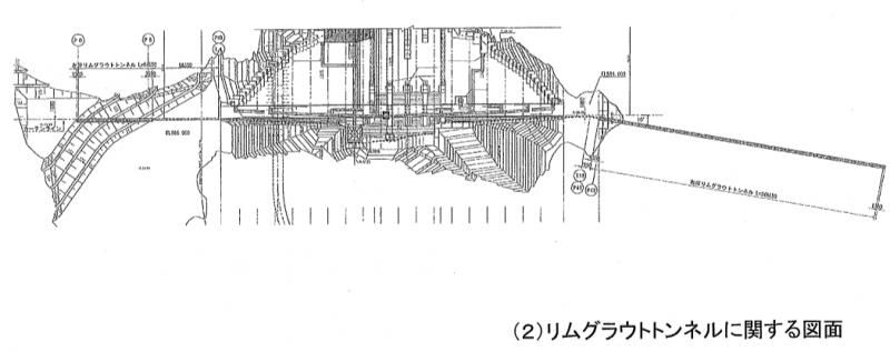 リムグラウトトンネルの図面