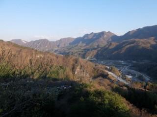 長野原城址からの眺望