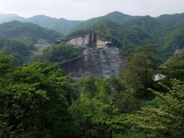 ダム本体左岸 (2)