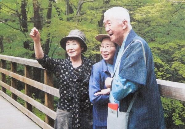 永さんと登紀子さん、澤地さん