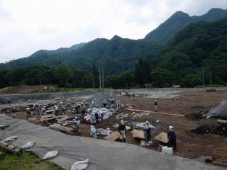 石川原遺跡の発掘調査 (2)