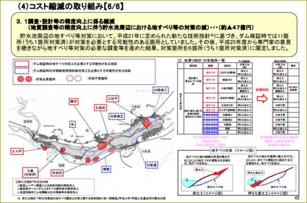 資料4 関東地方整備局・事業評価監視委員会資料42ページ