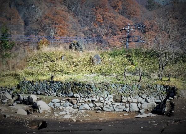 天明以前と以降の石垣