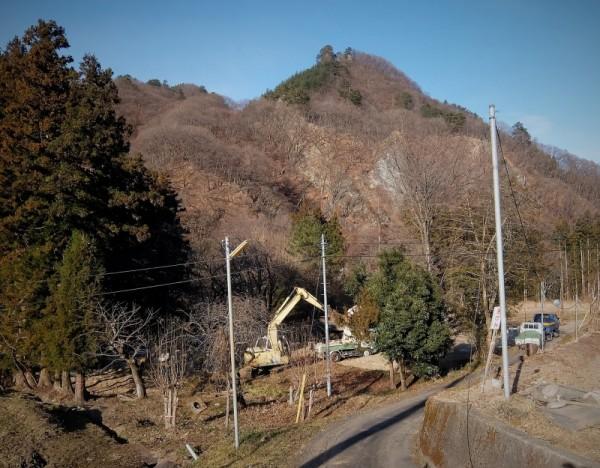 富沢さんのお宅跡