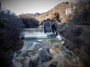 長野原取水堰下流