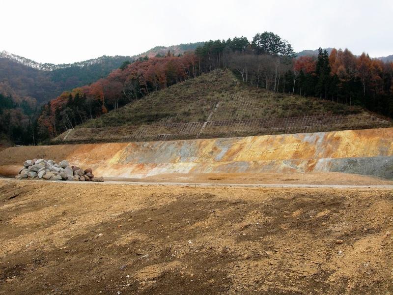 05年11月川原畑三平代替地造成中