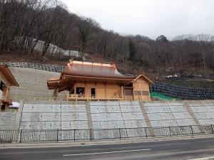 完成した新神社
