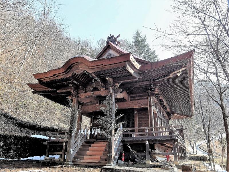 川原湯神社 (2)