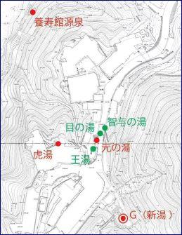 温泉位置図