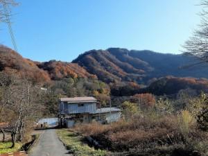 金鶏山と高山さんのお宅 (2)
