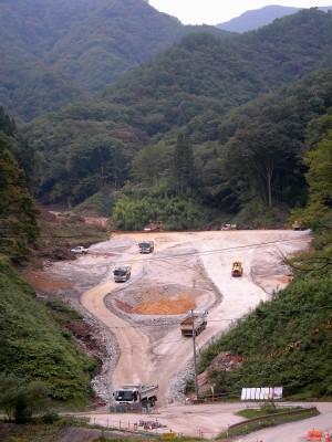 2007年八ッ場 温井沢
