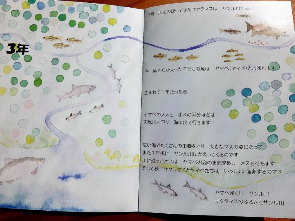 サンル川の絵本