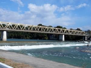 坂東橋と坂東大堰