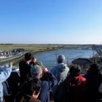 利根大堰の用水路